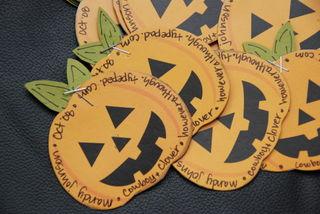 Halloween ATC front