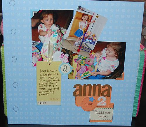 Anna is 2